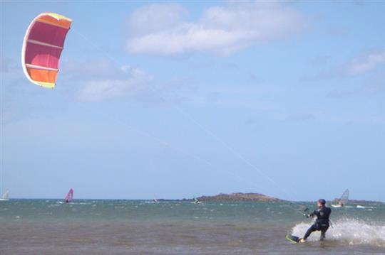 Kite surf à Lancieux (22)